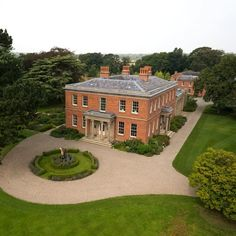 Grand Georgian country houses of this magnitude are rare to the market, which makes the presence of Cogshall Hall estate worthy of special… Georgian Style Homes, Georgian Mansion, English Manor Houses, English House, English Country Houses, English Estates, Georgian Architecture, Country Estate, Beautiful Buildings