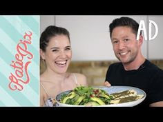 Superfood Summer Salad Recipe with Saucy Sea Bass | Katie Pix - http://www.bestrecipetube.com/superfood-summer-salad-recipe-with-saucy-sea-bass-katie-pix/