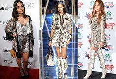Vanessa Hudgens, Dolce & Gabbana, 2005 e Jennifer Lopez (Foto: Getty Images)