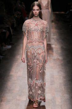 "allegoryofvanity: "" Valentino Spring 2015 || Paris Fashion Week "" land-bound mermaid"