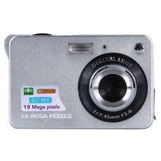 ขอแนะนำ  18MP 2.7? TFT LCD Digital Camcorder Camera DV 8X DigitalZoomHD1280x720 (Silver) - intl  ราคาเพียง  2,900 บาท  เท่านั้น คุณสมบัติ มีดังนี้ High Quality Durable Easy to use Brand New