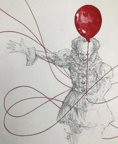 Clown Horror, Pennywise The Dancing Clown, American Horror Story, Drawing Ideas, Monsters, Nerd, King, Club, Cool Stuff