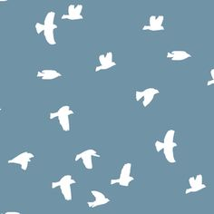 Hawthorne Threads - Flock Silhouette - Flock Silhouette in Marine