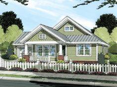 Bungalow Craftsman House Plan 66469