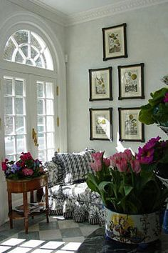 Beautiful sun room...love the French doors...everything