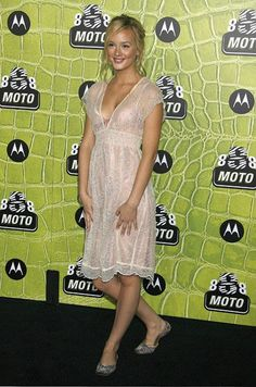 Pin for Later: Leighton Meester's Outfits Have Never Been Better 2006, Motorola's 8th Anniversary Party
