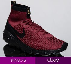 buy online 24b91 45e4d Nike Air Footscape Magista Flyknit FC men lifestyle sneakers team red  830600-600