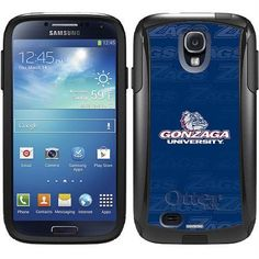 Gonzaga University Repeating Design on OtterBox Commuter Series Case for Samsung Galaxy S4