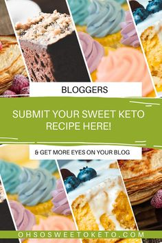 Do you have a sweet keto recipe you would like to share? Fill out this form and it will be added to the site and shared across social media! Nutrition Information, Your Recipe, Keto Recipes, Blogging, Low Carb, Social Media, My Favorite Things, Eyes, Breakfast