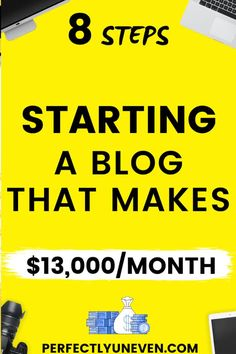How To Start A Blog For Beginners - Perfectly Uneven - Step by step guide how to start a blog for beginners. Not only how to start a successful blog but in fact how you can start a profitable blog. I discuss everything from the best wordpress hosting, finding your blogging niche, to the best wordpress theme. #blogging #howtostartablog ##bloggingforbeginners #bloggingtips