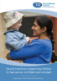 Secure transitions are seen as being about relationships, rather than just managing procedures. It puts children's relationship needs at the heart of transitions and gives ideas for how these can be addressed. Small Group Activities, Health Activities, Emotional Development, Child Development, Early Childhood Australia, Education In Australia, Emotional Child, Behaviour Management, Separation Anxiety