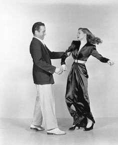 """Humphrey Bogart and Lauren Bacall publicity still for """"To Have and Have Not"""""""