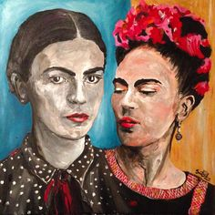 Double Frida by Shannon Scott @flacart