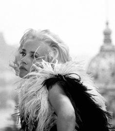 """Jeanne Moreau, """"La baie des anges"""" by Jacques Demy, 1962, Monaco."""