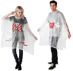 Stay Dry with Disney Rain Ponchos for the Whole Family