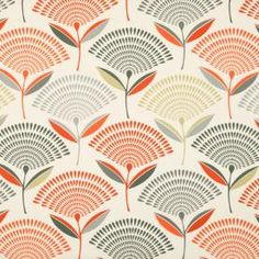 Dandelion Curtain Fabric | Free UK Delivery | Terrys Fabrics