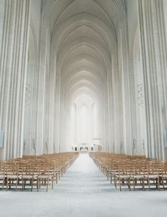 Grundtvig Church in Copenhagen, Denmark