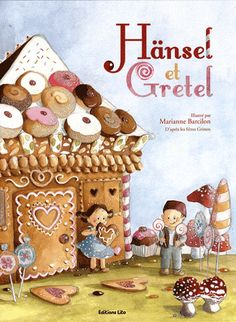 Hansel And Gretel House, Hansel Y Gretel, Grimm, Illustrations, Illustration Art, Candy House, Candy Art, Art Drawings For Kids, House Drawing