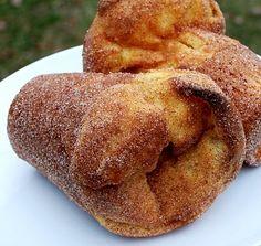 Cinnamon Sugar Popovers.