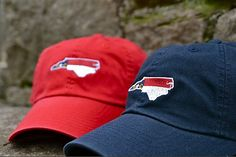 North Carolina State Flag Caps - Heritage Line by Volunteer Traditions!