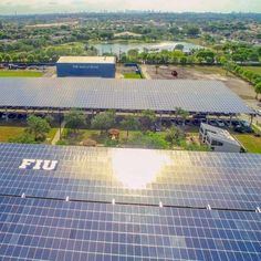 Florida International University (FIU)and Florida Power & Light Company (FPL)recently completed acommercial-scale solar installation at FIU's College of Engineering and Comput…
