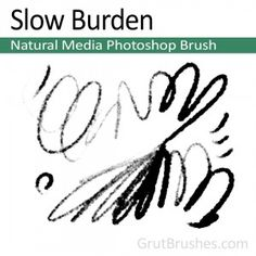 Slow Burden - Photoshop Pastel Brush A very soft natural media brush with properties ranging from graphite to oil. Starting out as a soft sketching pencil, with some firmer pressure it instantly becomes a thick opaque pastel. Artist Brush, Photoshop Brushes, Graphite, Sketching, Cool Photos, Pencil, Pastel, Oil, Graphic Design