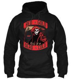 49ers Limited Edition Red & Gold Til I'm Dead & Cold Hoodie