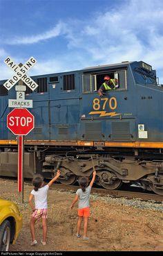 RailPictures.Net Photo: CSXT 870 CSX Transportation (CSXT) GE ES44AC at Cheddar, South Carolina by Ant Davis