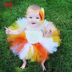e61094baa Girls Rainbow Fairy Tutu Dress Fluffy Baby Dress with Matching Headband  Toddler Halloween Birthday Photo Costume
