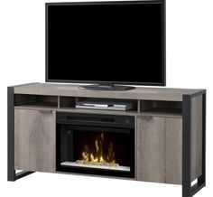 Dimplex - Electric Fireplaces » Media Consoles » Products » Pierre Media Console