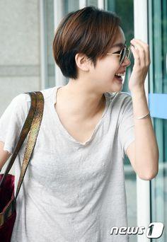 Kim go eun Kim Go Eun Hair, Kim Go Eun Goblin, Kim Go Eun Style, Korean Actresses, Korean Actors, Asian Celebrities, Dream Hair, Short Girls, K Idols