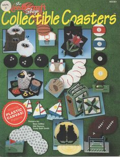 Collectable+Coasters+Patterns+-+The+Needlcraft+Shop+903301+Plastic+Canvas