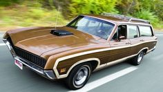 The Reverse Mullet - 1971 Ford Torino Squire - Party  - Hemmings Motor News