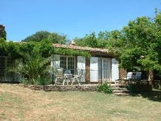 Villas in France-La Marmotte from the garden-Property 106252