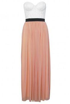 Bustier Maxi Dress