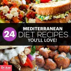 Mediterranean diet recipes - interesting...