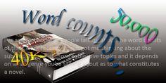 Tasha's Thinkings: The joys of word count - how long should a novel b...