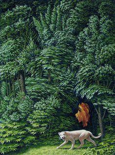 """Forest Green"" by Leonard Koscianski, 2012"