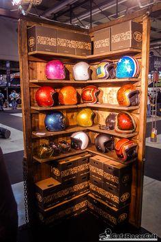 Motorcycle Workshop, Motorcycle Shop, Motorcycle Garage, Car Shop, Vespa Shop, Helmet Shop, Aces And Eights, Shoe Room, Motorcycle Helmets