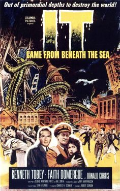 It Came From Beneath The Sea......1955