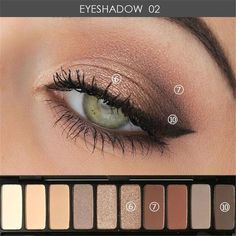 23 Le maquillage naturel pour les yeux Smokey Make You Brill
