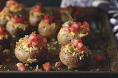 Little Stuffed Mushrooms recipe