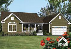 Pro-Fab | Constructeur de maisons modulaires, usinées, préfabriquées | Modèle Royale