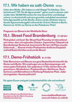 street food & demo-frühstück [flyer] « daniel wiesmann büro für gestaltung