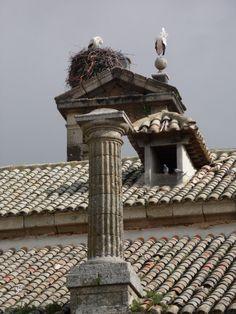 VELADA (TOLEDO) - Museo Manuel Aznar (Tejado y Cigüeñas).