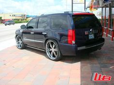 "Cadillac Escalade with 26"" Auto Couture Malice 6"