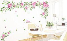 ufengke® Romantische Rose Blume Reben Wandsticker,Wohnzim... https://www.amazon.de/dp/B00J56YQRI/ref=cm_sw_r_pi_dp_x_RK.AybPGFKH7D