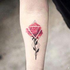 "3,402 Likes, 20 Comments - TATTOOFET FOR INSPIRATION (@tattoofet) on Instagram: ""Original rose × Follow ☛ @tattoosinblack Also Follow ☛ @inkedfet ☛ @inspiration.tatts ☛…"""