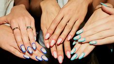 20 Cute Summer Nail Designs For 2020 The Trend Spotter 50 Awesome Coffin Nails . - 20 Cute Summer Nail Designs For 2020 The Trend Spotter 50 Awesome Coffin Nails Designs You Ll Flip - Cute Summer Nail Designs, Cute Summer Nails, Winter Nail Designs, Nail Summer, Coffin Nails, French Tip Manicure, Subtle Nails, Nagellack Trends, Round Nails