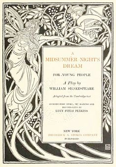 A Midsummer Night Dream, illustrator Lucy Fitch Perkins
